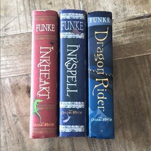 Inkheart, Inkspell & Dragon Rider Books